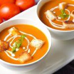 Tomato Soup Recipe |  Creamy Tomato Soup |  Home Made Tomato Soup |  Toasted