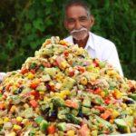 Veg Salad Recipe | Quick and Healthy Vegetable Salad | Veggie Salad Recipe by Grandpa