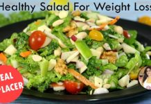 Weight Loss Salad Recipe for Lunch/Dinner - Healthy Recipe to Lose Weight | Kale Salad