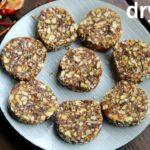 dry fruit barfi recipe - sugar free | energy bar recipe |ड्राई फ्रूट्स बर्फी | dry fruit burfi