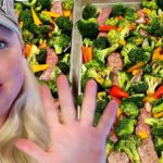 🥦5 SHEET PAN DINNERS   Healthy Recipes with TONS of Veggies, too!!!