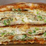 Bread Omelette Sandwich | Very Easy & Healthy Recipe | Homemade Omelette Sandwich | Kanak's Kitchen