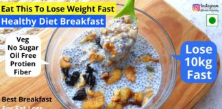 Breakfast Recipes for Weight loss   Sugar Free Diet Recipes   Chia Pudding   Weight loss recipes