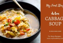 Detox Cabbage Soup - Healthy gluten free and vegan soup