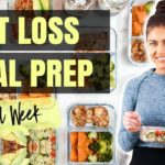 EASY 1 WEEK MEAL PREP FOR MAXIMUM FAT LOSS! | CHEAP & HEALTHY