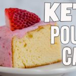 EASY KETO POUND CAKE RECIPE | Strawberry Cream Glazed | Keto Steve Recipe Collab