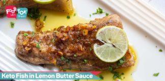 Easy Keto Fish In Lemon Butter Sauce Recipe   Easy Low Carb High Fat Keto Recipe