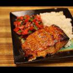 Easy Teriyaki Salmon Recipe - big boss airfryer - healthy salmon recipes - air fryer dinner