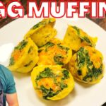 Egg Muffins Keto Recipe | Healthy Meal Prep