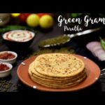 Green Gram Paratha | Moong Paratha | Healthy Recipe
