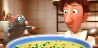 HOW TO MAKE Potato Leek Soup from RATATOUILLE |  Feast of Fiction