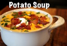 How To Make Potato Soup - Loaded Potato Soup Recipe #MrMakeItHappen #Recipes #PotatoSoup