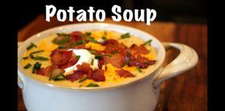 How To Make Potato Soup - Loaded Potato Soup Recipe #MrMakeItHappen #Recipes #PotatoSoup