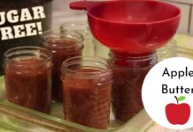 How to CAN Sugar Free Apple Butter Recipe!