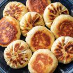 How to Make Pan Fried Veggie Buns   Vegan, Asian Recipe