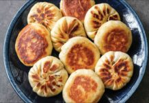 How to Make Pan Fried Veggie Buns | Vegan, Asian Recipe