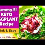 KETO BAINGAN BHARTA | INDIAN KETO RECIPE | 5-Minute Kitchen