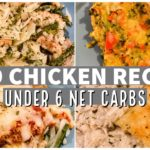 KETO CHICKEN RECIPES   Keto Dinner Ideas Under 6 Net Carbs Per Serving   Suz and The Crew