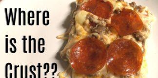 KETO CRUST LESS PIZZA RECIPE