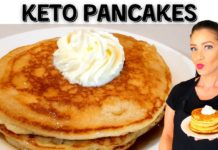 KETO RECIPE | Pancakes | 5 Minutes | Easy Recipe | LCHF | Low Carb | Gluten Free
