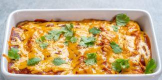 Keto Breakfast Enchiladas Recipe