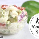 Keto Pasta Side Dish Recipe - KETO MACARONI SALAD