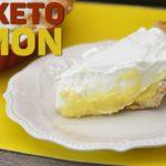 Keto Recipe: Keto Lemon Pie with Keto Hazelnut Crust | A Keto Holiday Recipe! Yum Yum!