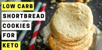 Keto Shortbread Cookies Recipe   How To Make Low Carb Shortbread Cookies For The Keto Diet
