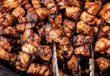 Keto Sticky Pork Belly Bites Recipe - Low Carb Sweet & Juicy - Easy to Make (Just 1g Net Carb)