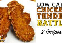 Low Carb CHICKEN TENDER Battle - The BEST Keto Chicken Finger Recipe!