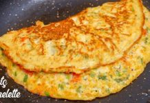 Oats Omelette | Weight Loss Food | Healthy Breakfast Recipe | Oats Omlet recipe
