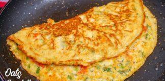 Oats Omelette   Weight Loss Food   Healthy Breakfast Recipe   Oats Omlet recipe