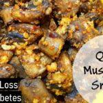Quick Mushroom Snack || Diabetes Recipe || Weight Loss Recipe