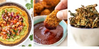 VEGAN SUPER BOWL RECIPES ‣‣ savory vegan party snacks