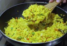 कम तेल में बनाए हेल्दी नास्ता | Healthy Breakfast Recipe | Poha Recipe | Kabitaskitchen