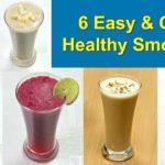 ६ तरीके के हेल्दी स्मूदीज़ मिनटों में बनाए | 6 Healthy Smoothies Recipe | Smoothies | KabitasKitchen