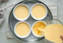 3 Ingredient Keto Custard   Very Easy and Delicious Dessert