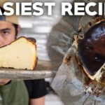 Basque Burnt Cheesecake Sugar Free (and Keto Cookies)