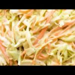 Best Coleslaw Recipe Under 3 Minutes.