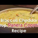 Broccoli Cheddar Soup (AMAZING) |  Panera Broccoli cheddar soup copycat recipe