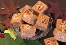 Canadian Maple Walnut Fudge – Keto Fudge,  Sugar Free,  Gluten Free | Keto Recipe