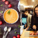 Creamy Tomato Soup & Grilled Cheese [VEGAN RECIPE]