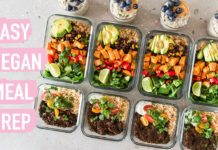 EASY VEGAN MEAL PREP – Healthy Plant-Based Recipes