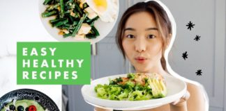 Easy Healthy Recipes   What I Eat To Get Fit