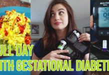 FULL DAY WITH GESTATIONAL DIABETES | Meals + Blood sugar testing