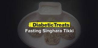 Fasting Singhara Tikki | Diabetic Treats | Healthy Diabetic Recipe | Dr.Roshani Gadge