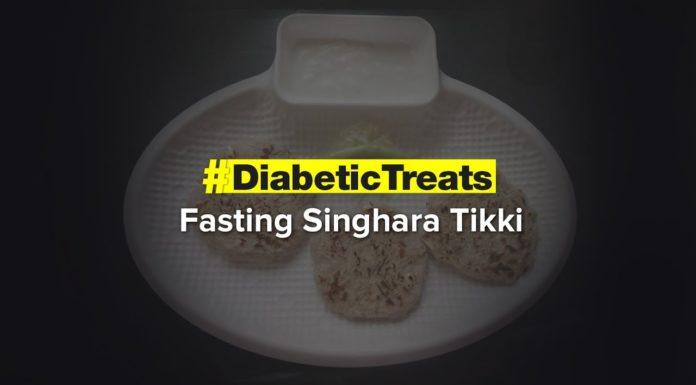 Fasting Singhara Tikki   Diabetic Treats   Healthy Diabetic Recipe   Dr.Roshani Gadge