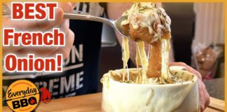 French Onion Soup Recipe |  Slow Cooker Recipe |  Slow Cooker French Onion Soup |  Everyday BBQ
