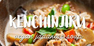 HEALTHY Japanese Soup (けんちん汁 - Kenchinjiru)
