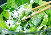HOW TO MAKE SIMPLE ROMAINE LETTUCE SALAD |ROMAINE LETTUCE SALAD RECIPE|ROMAINE SALAD WITH CRANBERRY